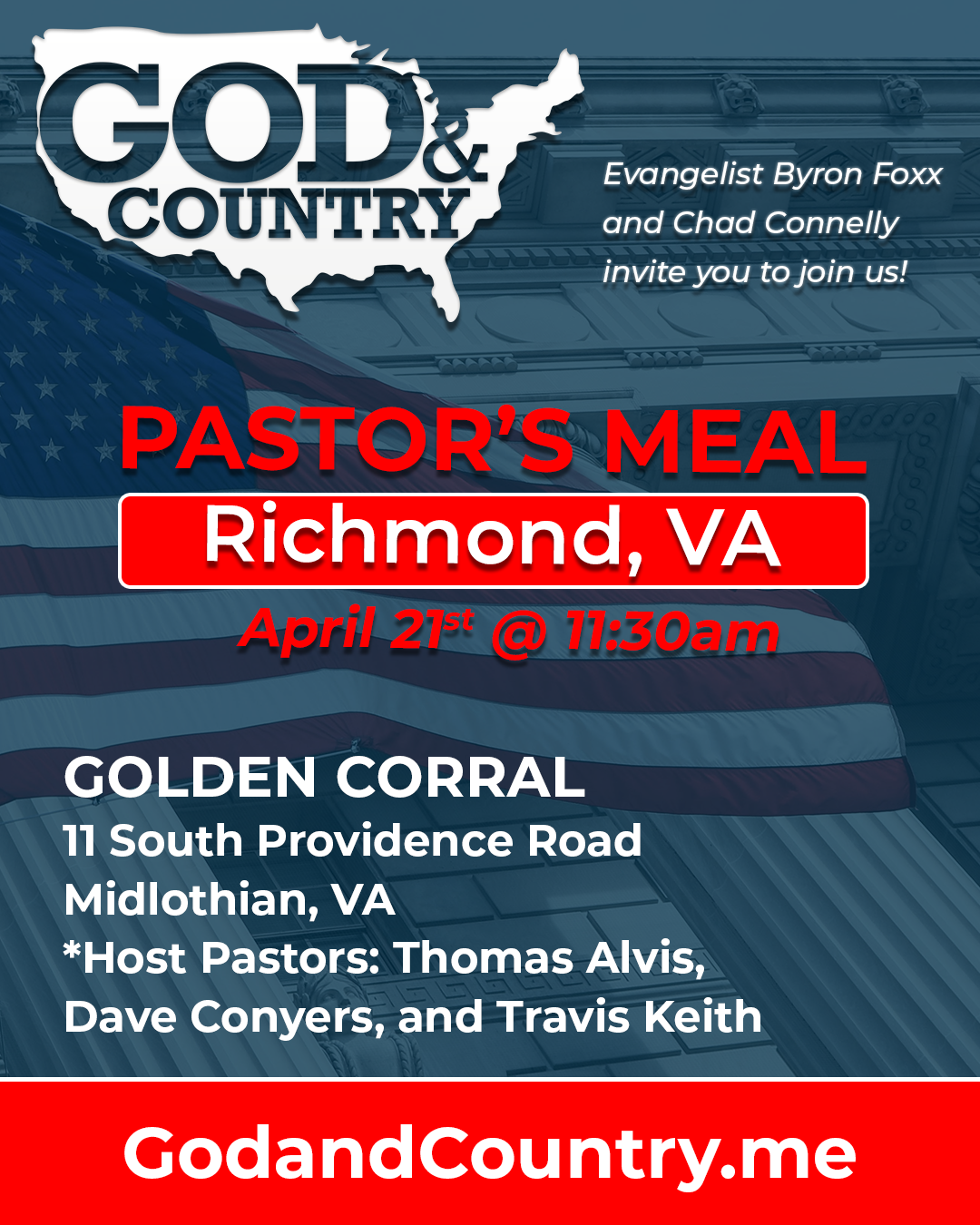 God and Country Meals apr 21